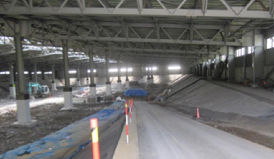 一般廃棄物最終処分場の建設プロジェクト