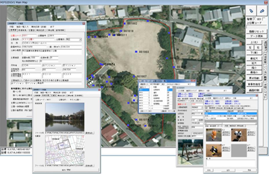公園長寿命化計画策定業務支援システム『PAMLT ver3』